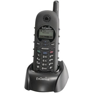 Engenius Durafon1x-Hc Long Range Cordless Handset, Black