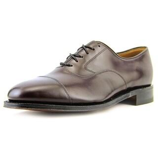Johnston & Murphy Melton E Cap Toe Leather Oxford