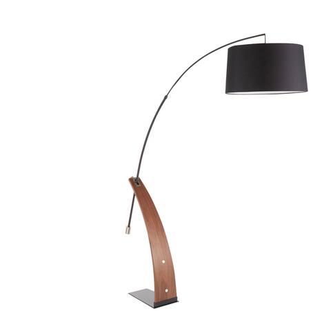 Robyn Mid-Century Modern Floor Lamp - N/A