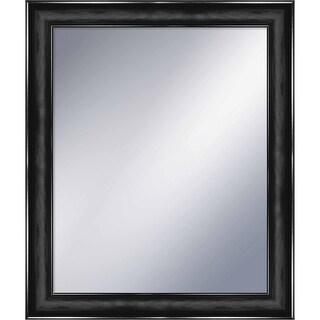 """PTM Images 5-1255 25-3/4"""" x 21-3/4"""" Rectangular Framed Mirror - Black"""