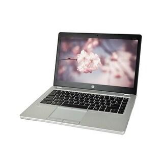 HP Elitebook Folio 9480M Core i5-4310U 2.0GHz 4th Gen CPU 8GB RAM 180GB SSD Windows 10 Pro 14-inch Laptop (Refurbished)