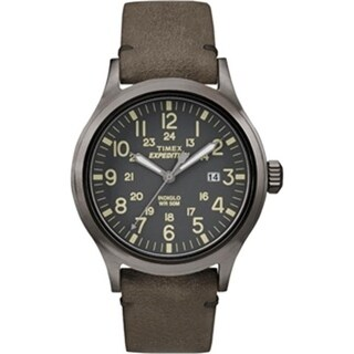 Timex TW4B017009J Expedition Scout Metal, Brown & Gray