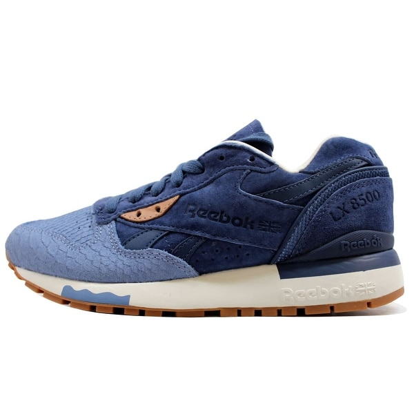 f98b2cc019a Shop Reebok Women s LX 8500 Exotics Blue Purple-Chalk-Stone V68794 ...