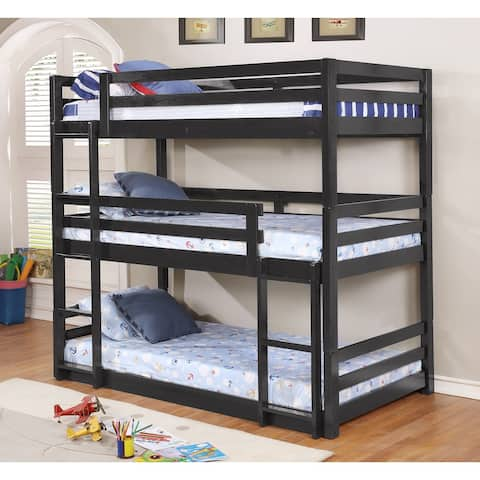 Bryson Triple Twin Bunk Bed