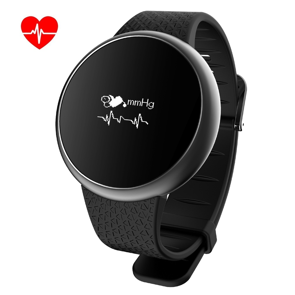 Image Waterproof Fitness Tracker Watches Activity Tracker With Heart Rate Monitor Blood Pressure for Android IOS
