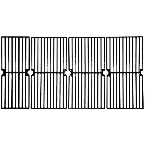 """4pc Gloss Cast Iron Cooking Grid for Master Forge and Brinkmann Gas Grills 33"""" - N/A"""