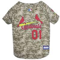 MLB St Louis Cardinals Camo Jersey