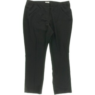 Tahari ASL Womens Flat Front Unlined Dress Pants