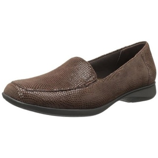 Trotters Womens Jenn Suede Slip On Loafers