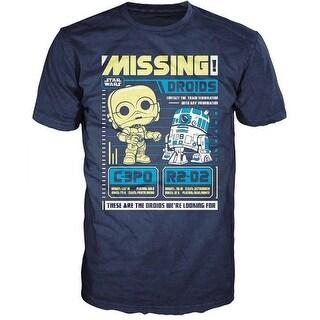 Star Wars Funko POP Tees C-3PO & R2-D2 Poster