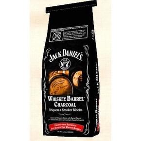 Frontier JD.WBCDX.U.06 Jack Daniel's Whisky Barrel Charcoal Briquets, 6.8 lbs
