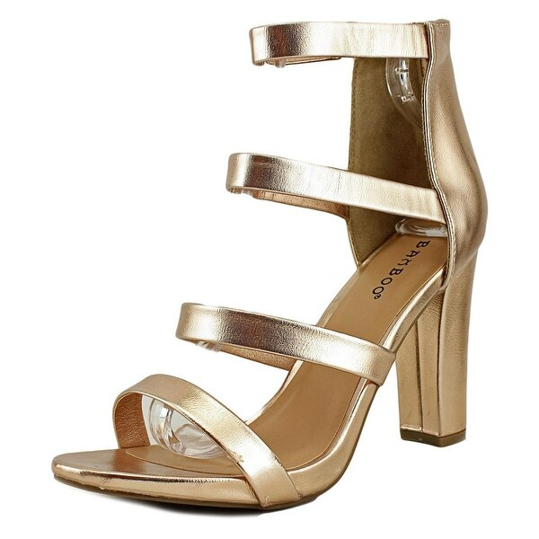 Bamboo Limelight-03 Women Open Toe Synthetic Pink Sandals