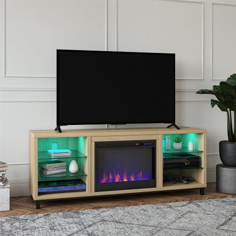 Avenue Greene Westwood Deluxe Fireplace TV Stand