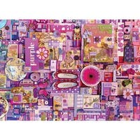Purple, A 1000 Piece Jigsaw Puzzle by Cobble Hill