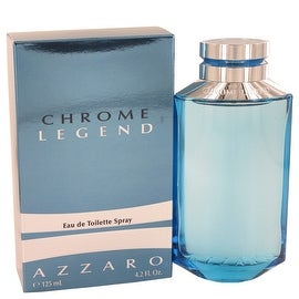 Chrome Legend by Azzaro Eau De Toilette Spray 4.2 oz - Men