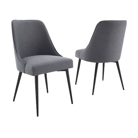 Carson Carrington Fagared Fabric Dining Chair (Set of 2)