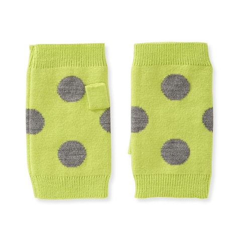 Aeropostale Womens High Boot Fingerless Gloves, green, One Size - One Size