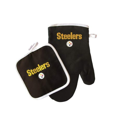 Pittsburgh Steelers Oven Mitt/Pot Holder Set