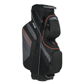 New Ping 2017 Traverse Golf Cart Bag (Black / Charcoal / Flare) - black / charcoal / flare