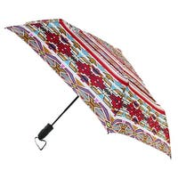 ShedRain Women's Auto Open and Close Vented Windjammer Compact Umbrella - One size