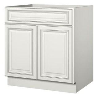 """Sanibel 33"""" Double Door Sink Base Cabinet"""