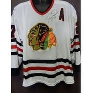 Signed Roenick Jeremy Chicago Blakchawks Chicago Blackhawks Replica Jersey Size XLarge Has light st