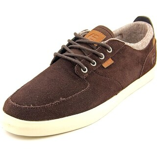 Etnies Hitch Round Toe Suede Skate Shoe