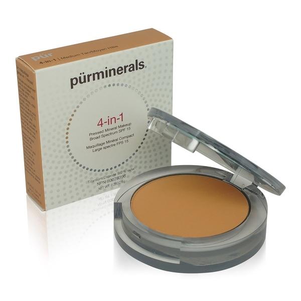 PUR 4-In-1 Pressed Mineral Makeup - Medium Tan 0.28 Oz
