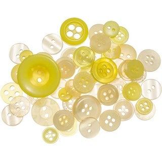 Lemon Twist - Buttons Galore Button Mason Jars