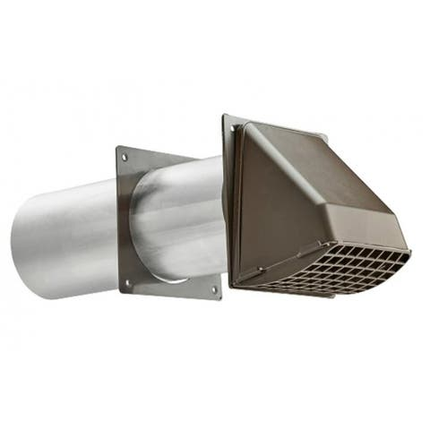 Lambro 209B Dryer Vent Hoods, Brown