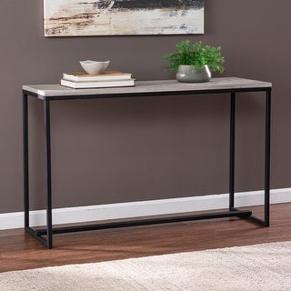Link to Strick & Bolton Sorrento Long Reclaimed Wood Console Table Similar Items in Living Room Furniture
