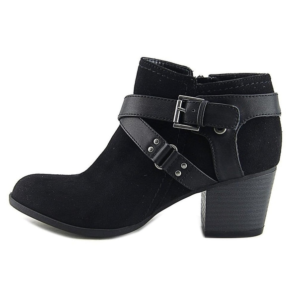 Indigo Rd. Womens Sablena Almond Toe Ankle Fashion Boots