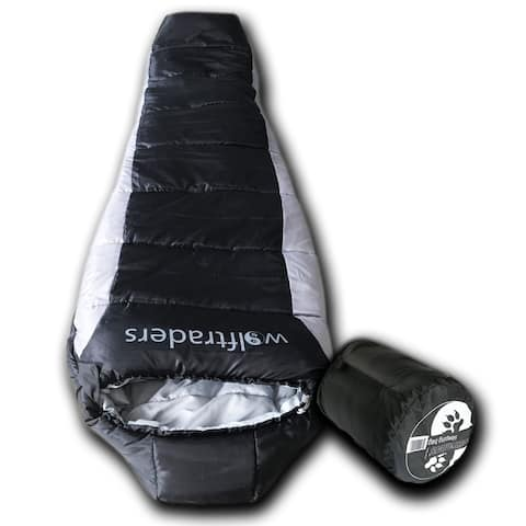 Wolftraders -20 Degree Synthetic Down-Fill Mummy Sleeping Bag