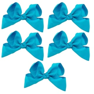 Greatlookz Extra Large Grosgrain Ribbon Bow Set of 5