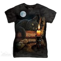 The Mountain Cotton The Witching Hour Design Novelty Womens T-Shirt