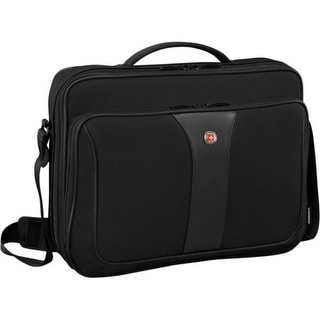 SwissGear Axiom Briefcase - Black Laptop Carrying Briefcase