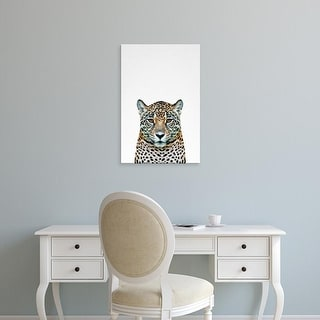 Easy Art Prints Tai Prints's 'Leopard II' Premium Canvas Art