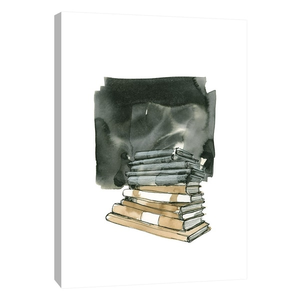 """PTM Images 9-105410 PTM Canvas Collection 10"""" x 8"""" - """"Books"""" Giclee Books Art Print on Canvas"""