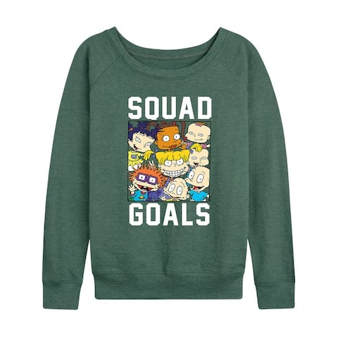 Rugrats - Squad Goals - Women's Lightweight French Terry Pullover