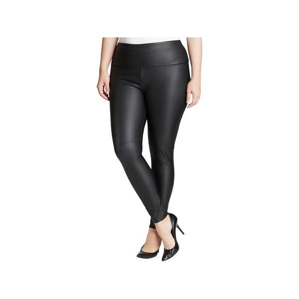 7ada1def2fbbc9 Shop Lysse Womens Plus Leggings Vegan Leather High Waist - 1x - Free ...