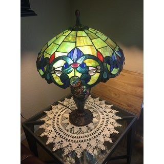 Victorian Design Two Light Table Lamp