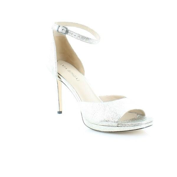 Via Spiga Salina Women's Heels Silver - 10