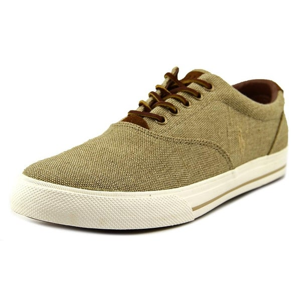 Lauren Tan Fashion Sneakers Ralph Polo Men Shop Free Vaughn Canvas vm80NOnwy