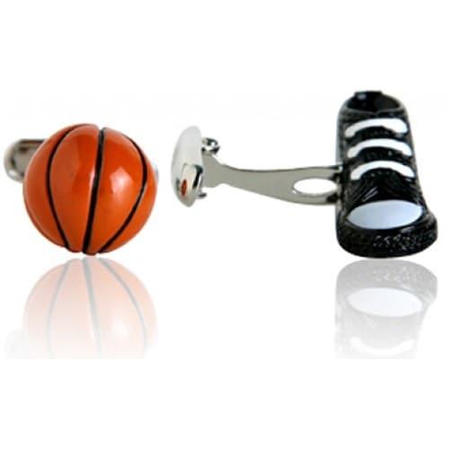 Basketball Sport Athlete Cufflinks In 3D