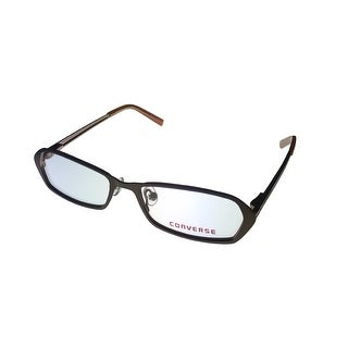 Converse Opthalmic Modified Rectangle Metal Frame Cookie / Brown - Medium