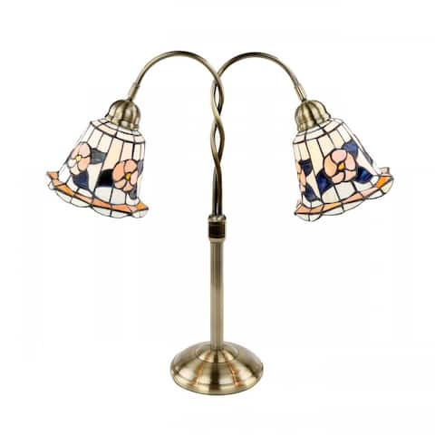 Table Lamp Brass Style 24H x 23W Renovator's Supply