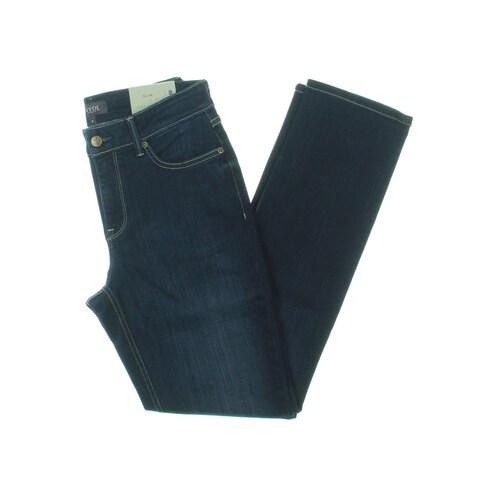 NYDJ Womens Sheri Slim Jeans Mid-Rise