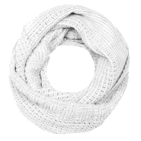 Womens Glamorous Chic Warm Knitted Winter Snood Infinity Loop Scarf. Opens flyout.