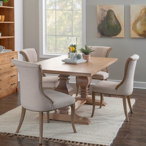 Quinlan Solid Pine Dining Table