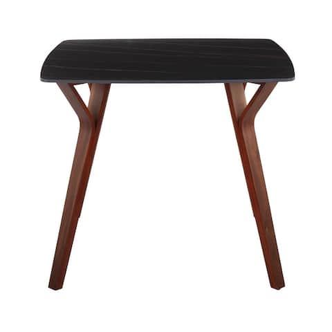Carson Carrington Sala Dining Table with Textured Marble Table Top